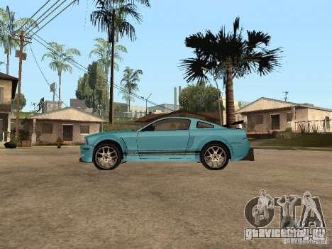 Ford Mustang GT 500 для GTA San Andreas вид слева