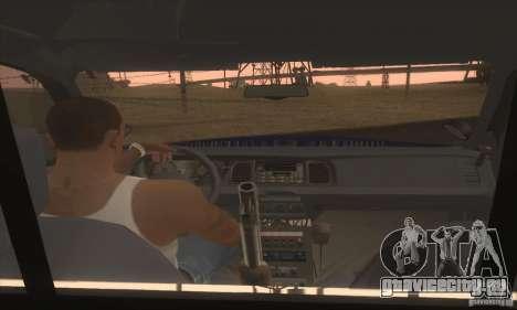 Ford Crown Alabama Police для GTA San Andreas вид сзади слева