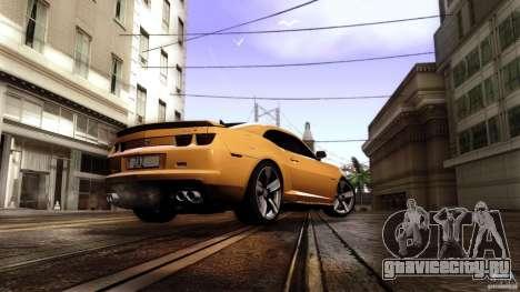 Chevrolet Camaro ZL1 2011 v1.0 для GTA San Andreas вид слева