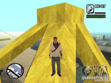 Desmond Miles для GTA San Andreas четвёртый скриншот