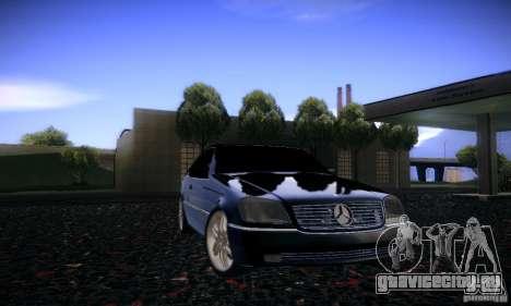 Mercedes-Benz 600SEC для GTA San Andreas вид сбоку