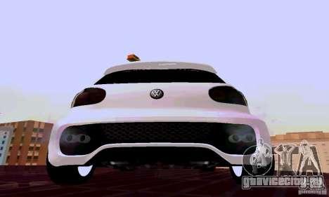 Volkswagen Golf 5 GTI W12 для GTA San Andreas вид справа
