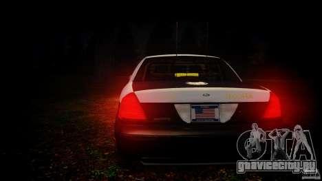 Ford Crown Victoria 2003 Florida CVPI [ELS] для GTA 4 двигатель