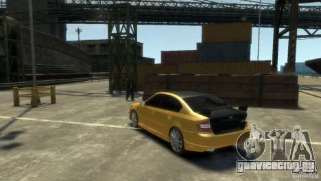 SUBARU Legacy B4 tuning для GTA 4 вид справа