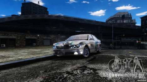 Nissan Laurel GC35 Itasha для GTA 4 вид сзади