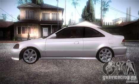 Honda Civic Si для GTA San Andreas вид слева