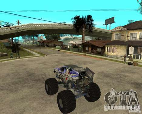Bounty Hunter для GTA San Andreas вид слева