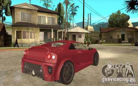Mastretta MXT для GTA San Andreas вид справа