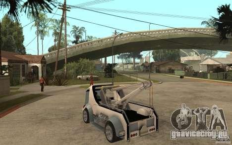 Lil Redd Wrecker для GTA San Andreas вид сзади слева
