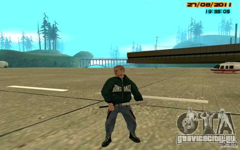 SkinHeads Pack для GTA San Andreas пятый скриншот