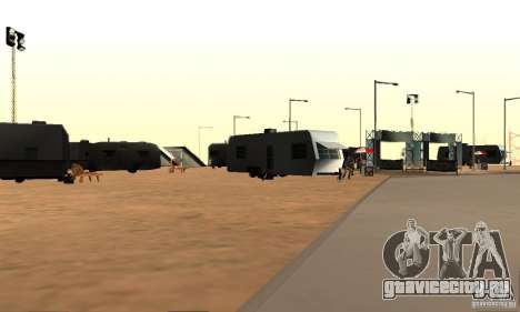 Трасса для дрифта Большое ухо v1 для GTA San Andreas третий скриншот