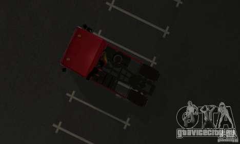 КамАЗ 5460 Skin 1 для GTA San Andreas вид сзади