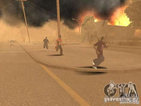 Quake mod [Землетрясение] для GTA San Andreas пятый скриншот