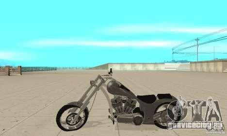 GTAIV Hellfury для GTA San Andreas вид слева