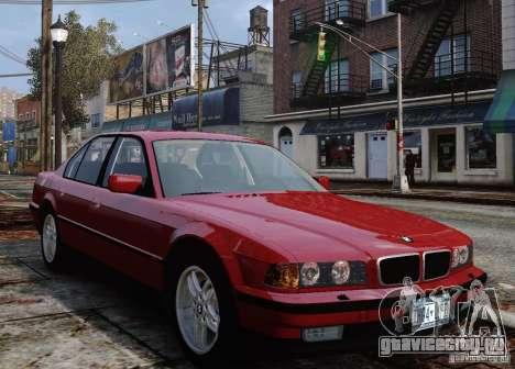 BMW 750i E38 1998 M-Packet для GTA 4