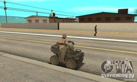 Новый Квадроцикл для GTA San Andreas вид справа