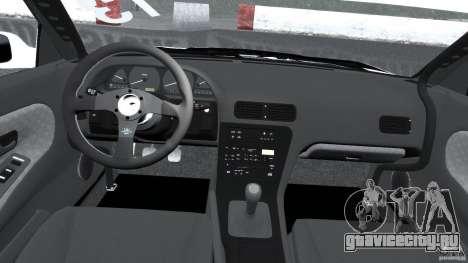 Nissan Silvia S13 Non-Grata [Final] для GTA 4 вид сзади