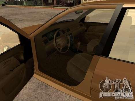 Toyota Camry 2002 TRD для GTA San Andreas вид сзади слева