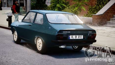 Dacia 1310 Sport v1.3 для GTA 4 вид сбоку