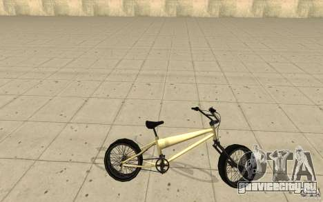 BMX Long для GTA San Andreas вид слева