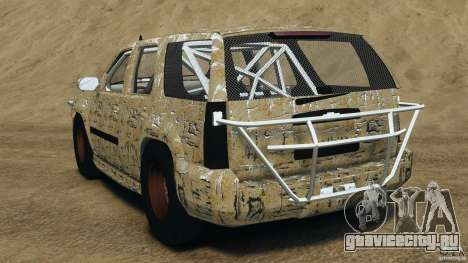 Chevrolet Tahoe 2007 GMT900 korch для GTA 4 вид сзади слева