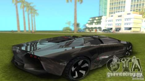 Lamborghini Reventon для GTA Vice City вид справа