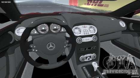 Mercedes-Benz McLaren SLR 722 v2.0 для GTA 4 вид сзади
