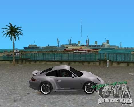 Porsche 911 Sport для GTA Vice City вид слева