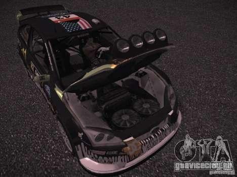 Ford Focus RS Monster Energy для GTA San Andreas вид изнутри