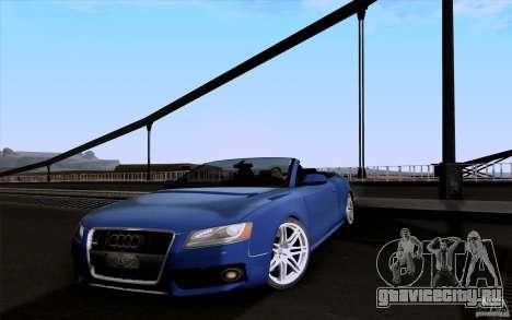 Audi S5 Cabriolet 2010 для GTA San Andreas