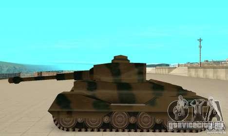 Танк RL-Tiger для GTA San Andreas вид слева