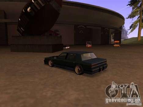 Willard Drift Style для GTA San Andreas вид слева