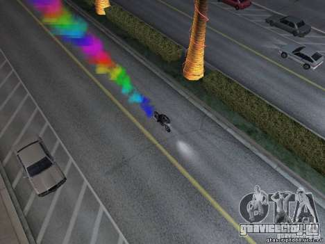 Bike Smoke для GTA San Andreas