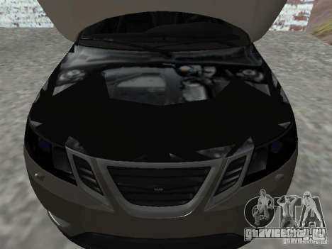 Saab 9-3 Turbo X для GTA San Andreas вид справа