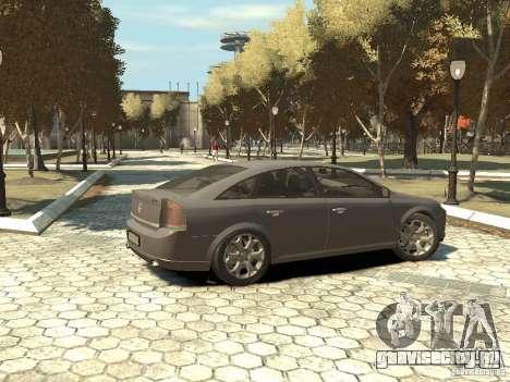 Opel Vectra для GTA 4 вид слева