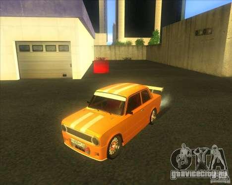 ВАЗ 2101 explosive tuning для GTA San Andreas