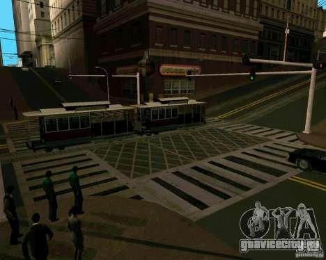 GTA 4 Roads для GTA San Andreas пятый скриншот