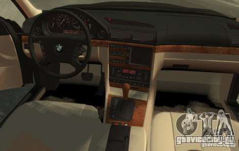 BMW 750i E38 1998 M-Packet для GTA 4 вид слева