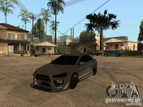 Mitsubishi Lancer Evolution X Drift Spec для GTA San Andreas