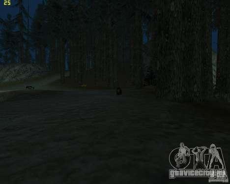 Медведь для GTA San Andreas третий скриншот