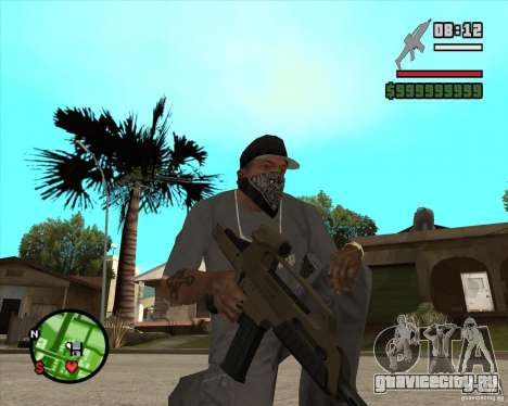 End Of Days: XM8 (HD) для GTA San Andreas второй скриншот