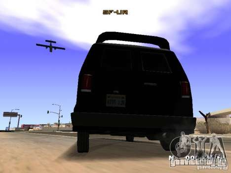 Burrito HD для GTA San Andreas вид сзади