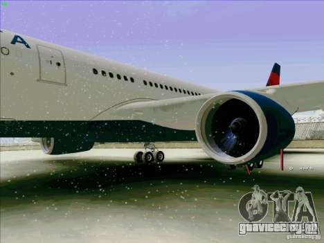 Airbus A330-200 для GTA San Andreas вид сзади