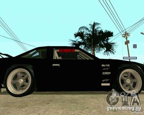 Hotring Racer Tuned для GTA San Andreas вид сверху