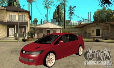Honda Civic Mugen RR для GTA San Andreas
