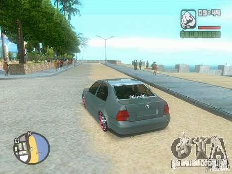VW Bora Tuned для GTA San Andreas вид справа