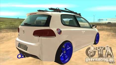 Volkswagen Golf MK6 Hybrid GTI JDM для GTA San Andreas вид справа