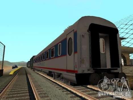Невский экспресс для GTA San Andreas вид сзади слева