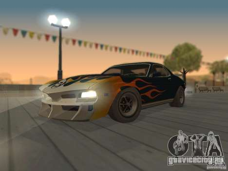 SPEEDEVIL from FlatOut 2 для GTA San Andreas вид сзади
