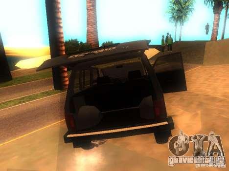 ВАЗ-2131 НИВА для GTA San Andreas вид справа